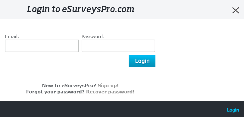 Tutorial - Creating and Deploying Surveys - Getting Started