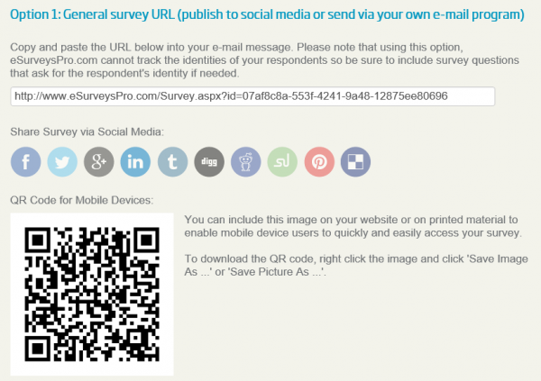 social media online surveys